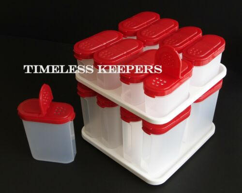 Free Shipping Modular Mates 17 pc Complete Spice Shaker Carousel Set New Popsicl