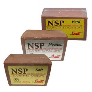 Details about Chavant NSP Soft Sulfur-Free Plasteline Fine Art Clay -  Multipack (S/M/H)