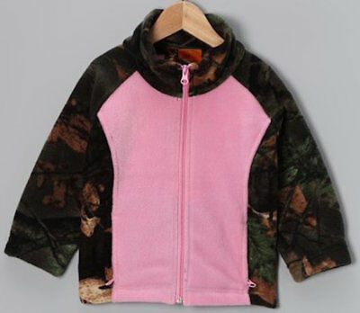 ZooFleece Fleece Pink Camouflage Girls Jacket Pants Hood Sweater Coat Hunt Set