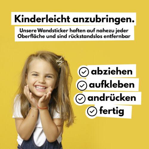 100 Kreise Wandtattoo Set Altrosa Aufkleber Folie Kinderzimmer Baby Sticker Y035