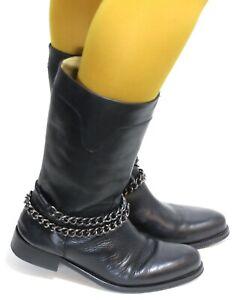 Stivali da Cowboy Donna Line Danza Catalano Stile Texas Pelle Premiumshoes 39