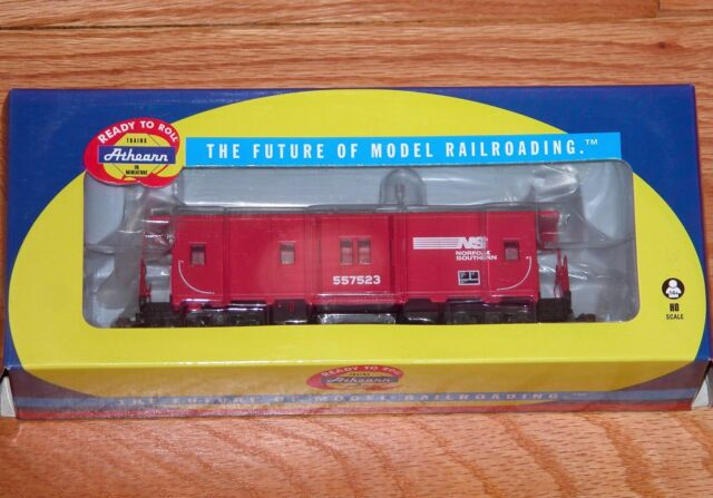 Athearn 74790 Bay Window Caboose Norfolk Southern NS 557523 Red