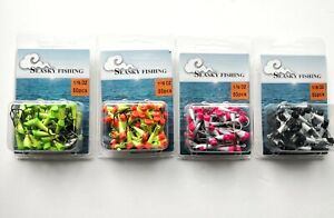 50 NEW Painted Shad Dart Jigheads 1/16 oz Fishing Hooks Lures Bait Tackles #2