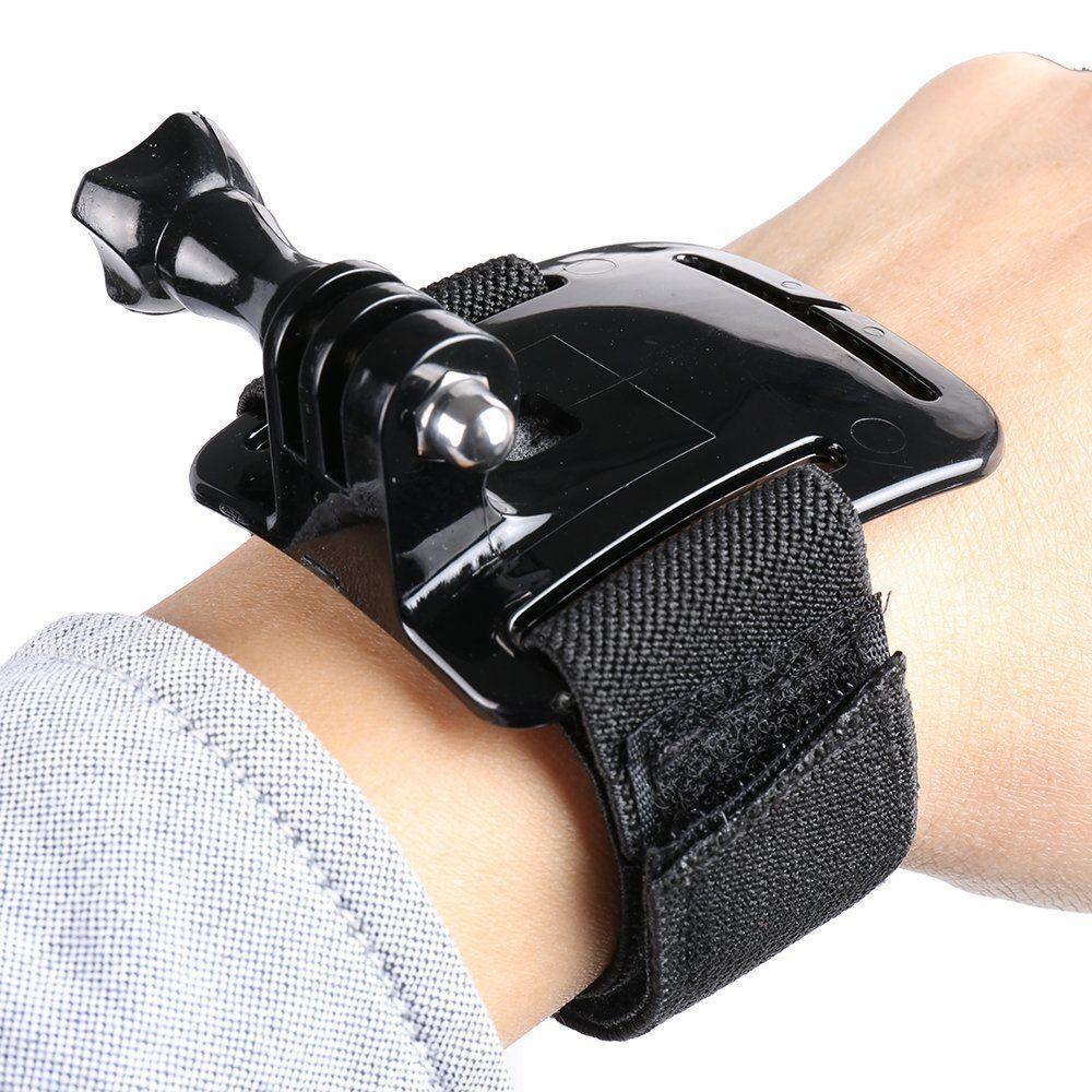 3+ 4 5 CAMERA ADJUSTABLE Wrist Strap Mount HAND BAND TRAVEL GoPro Hero 2 3