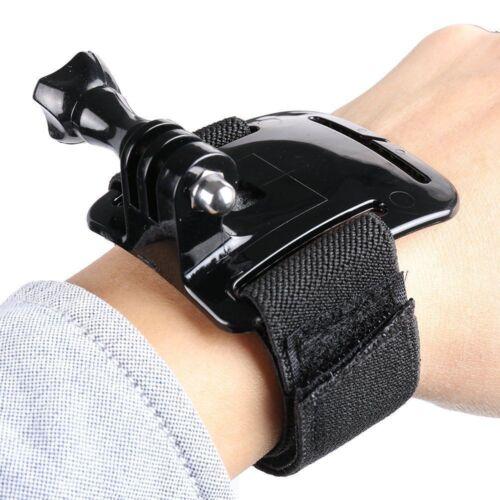 3+ 4 5 GO2 CAMERA Wrist Strap Mount HAND BAND STRETCHY TRAVEL GoPro Hero 2 3
