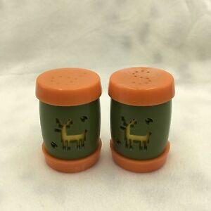 Set of 2 Vintage Salt /& Pepper Shakers Saint Labre Indian School  Ashland Montana