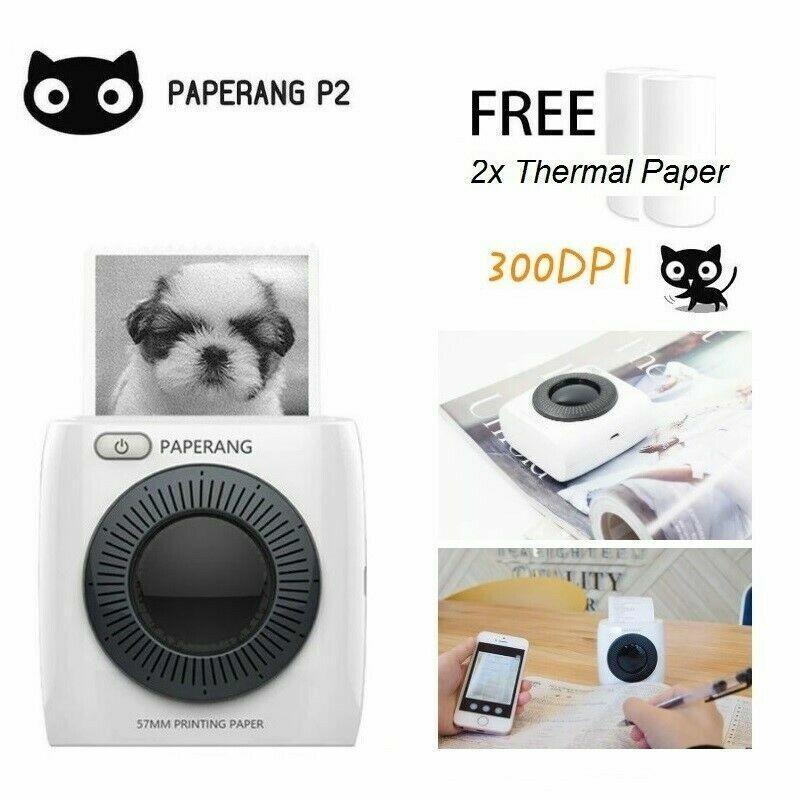 PAPERNAG P2 Portable Mini Wireless Bluetooth POS Thermal Pic