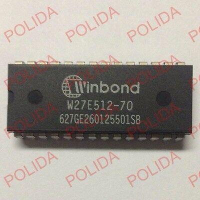 1PCS W27E512-12 W27E512-12A W27E512 EEPROM IC WINBOND Encapsulation:DIP-28