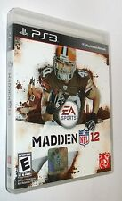 VG 2012 EA ps3 Madden 12 Sports Football Game Sony Playstation 3  Mb