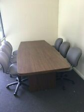 Conference Table Amp Chairs