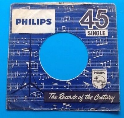 Company Record Sleeve Profit Small Replica Of Original Used Early Philips Label Storage & Media Accessories