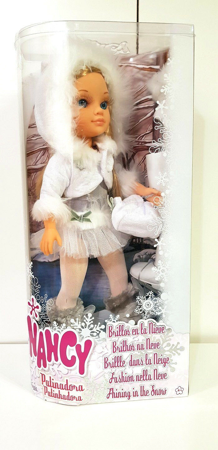 Famosa 700004996 Muñeca Nancy, Patinadora - Brillos en la nieve - New and Sealed