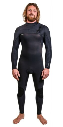O /'neill Hyperfreak 4//3+mm Chest Zip Roupa Masculino Inverno Roupa De Mergulho 2020-Preto