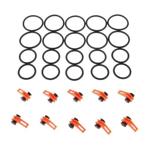 10 STÜCKE Angelhaken Keeper für Angelrute Pol Lockt Angelhaken Sicherheit Hal gb