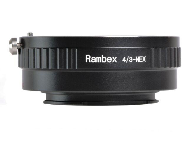 Rambex Olympus Four Thirds Objektiv an Sony E-Mount Adapter a5100 a6000 a6400 a6500