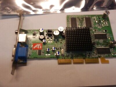 128mb Ati Radeon 9200 Agp Vga / Vid-out Graphics Card 109-a06200-00 102a0621200 Koop Altijd Goed