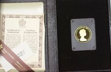 1980 Canada Arctic Territories $100 22k Gold Proof Commemorative Coin as Issued