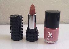 Kat Von D Mini Studded Kiss Lipstick & Nail Polish Set in Lovecraft (Pink Nude)
