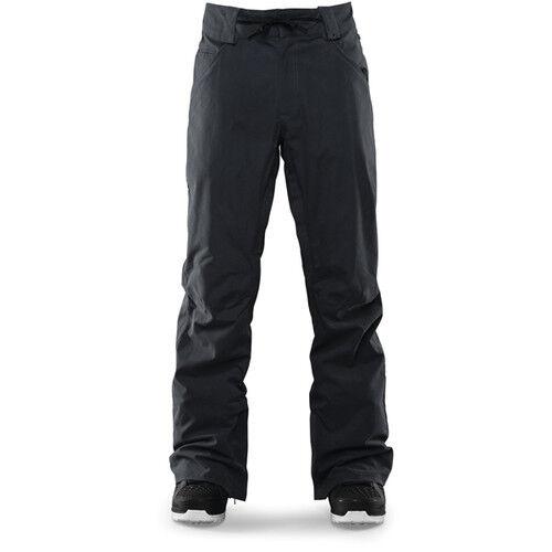 2016 Nwt Thirtytwo Wooderson Pantaloni Nero Lavare Ciondolare Mid Fit Stivaletti