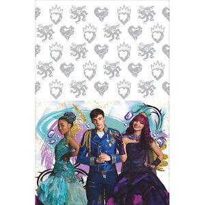 Image Is Loading DESCENDANTS 2 PLASTIC TABLE COVER Birthday Party Supplies