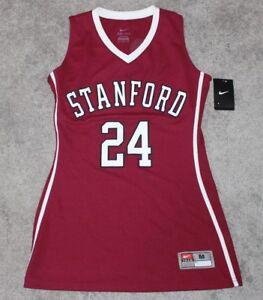 9931117a2c7 New NIKE Women s Stanford Cardinal Basketball Jersey  24 MEDIUM M ...