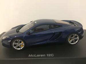 Autoart 56004 McLaren 12c Azure bluee 2011 1 43 Scale New