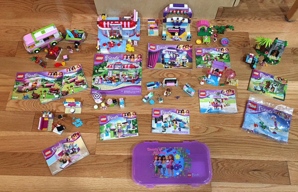 10 Lego Friends Sets 3184 41009 3933 3930 41032 41028 30402 3934 41004 3061