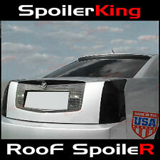 (284R) Cadillac CTS 2004-2007 Rear Window Roof Spoiler Polyurethane WING