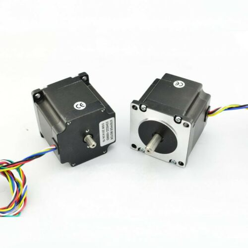 NEMA23 Dual Shaft 1A181ozin Hybrid Stepper Motor 23HS22DS