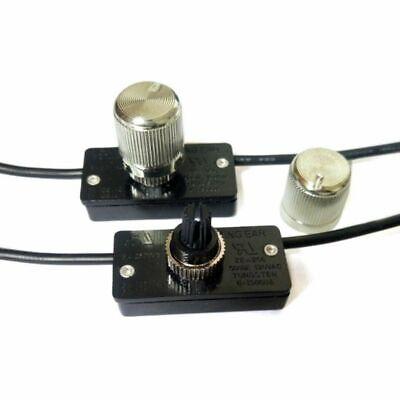 Growment Azul Tono de oro Interruptor giratorio regulador de rango completo de lampara de mesa 2 maneras