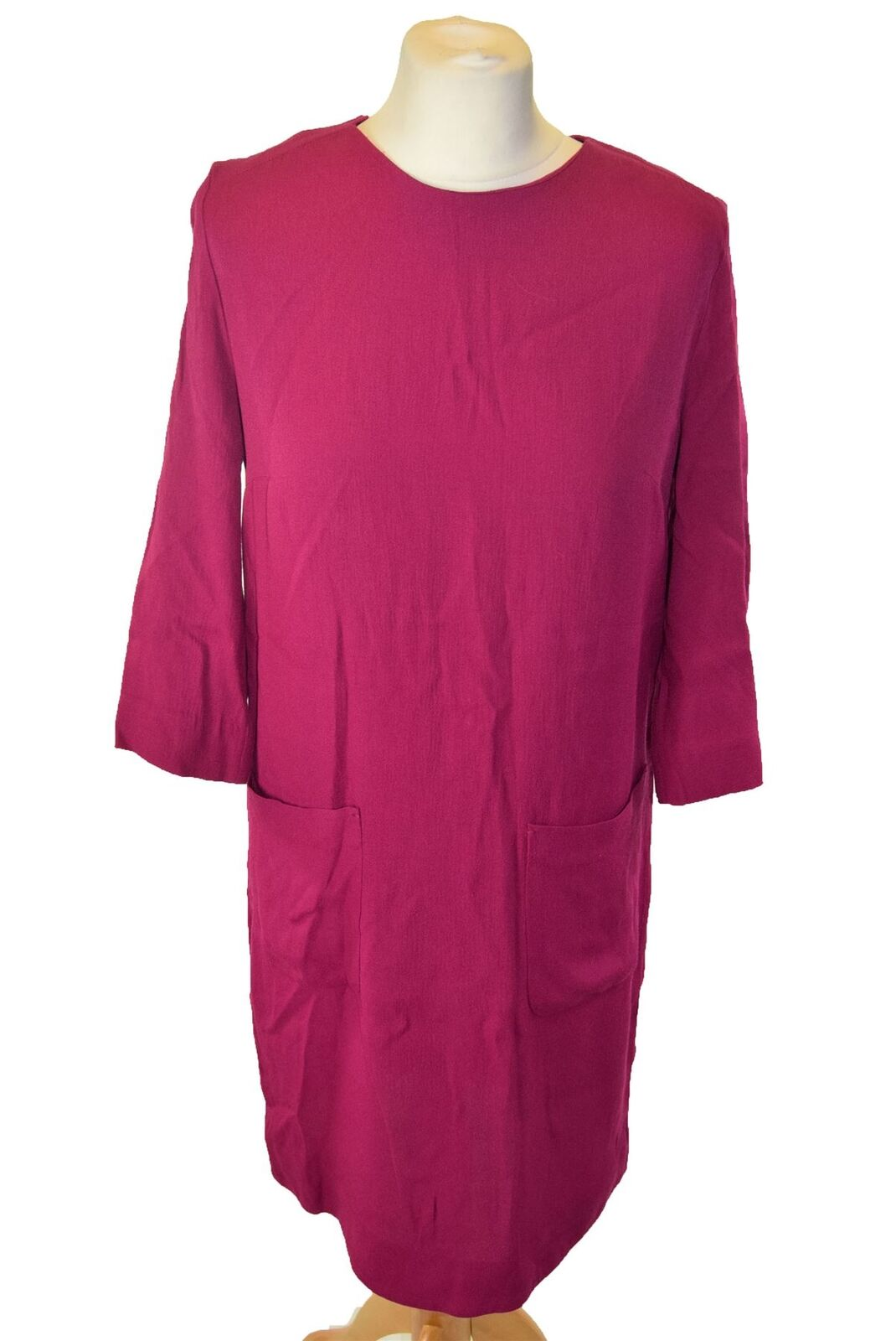 BY MARLENE BIRGER Pink Shift Dress, US 6