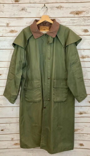 STOCKMAN Australia Mens Full Length Duster Ranch C