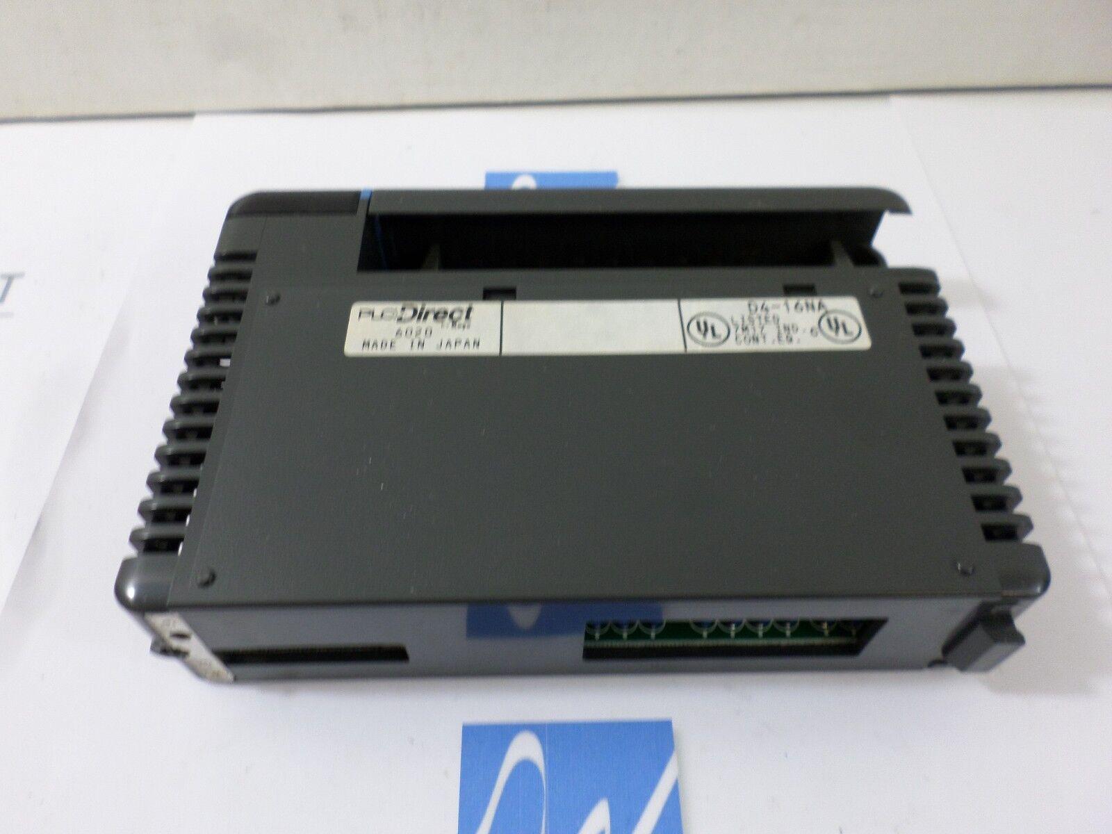 PLC Direct D4-16NA 110VAC Input