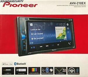 Pioneer-AVH-210EX-2-DIN-6-2-034-Touchscreen-Car-Stereo-Multimedia-DVD-Receiver