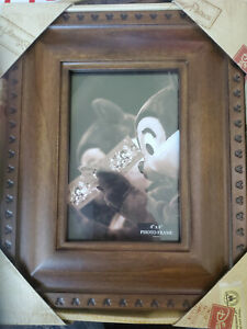 NWT-Mickey-Mouse-Icon-Disney-Picture-Photo-Frame-Wood-4-X-6