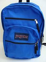 Jansport Big Student Backpack Blue Boys Girls Book Bag Pack School Sack