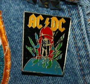 Vintage-ACDC-enamel-pin-NOS-retro-80s-Australia-Hat-Lapel-Bag-hard-rock-sweet