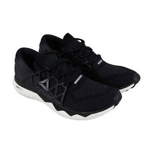 Détails sur Reebok Floatride Run Ultk BS8131 Homme Noir Low Top Athletic Gym Chaussures De Course afficher le titre d'origine