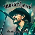Clean Your Clock 2016 by Motorhead DVD Discs 2 Movies PLG UK Artists Servi