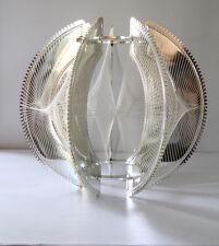 Vtg. Retro Mid Century Modern Geometric String Art Lamp Light Swag Chain