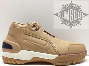 Nike Air Zoom Generation As QS Lebron Vachetta Tan 308214-200 size 9.5 All Star