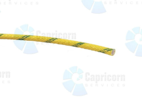 HEAT RESISTANT 2.5mm 25AMP HIGH TEMPERATURE FIBREGLASS CABLE OVEN HOT CUPBOARD
