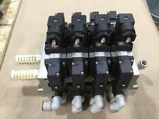 Lot Of 4 Smc 30 Vfs4210 5dz Solenoid Valves With Base 075a 24dc 522dk A16pr2