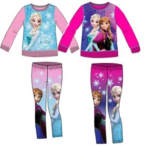 2a19440866 Disney Frozen Jogginganzug Leggings Pullover Hose Sweatshirt Kinder ...