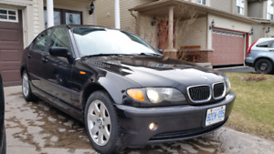 BMW 325xi All Wheel Drive 2002 facelift sedan 5 speed.