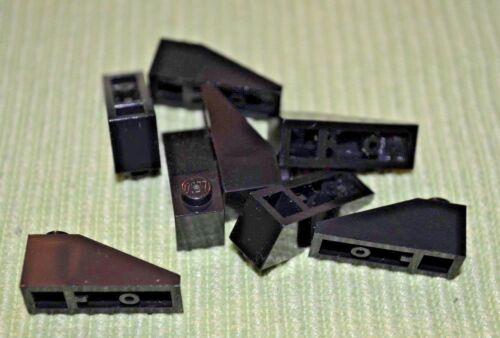 Black 1x3 Standard Roof Slope Bricks ~ Lego ~ NEW ~ 8