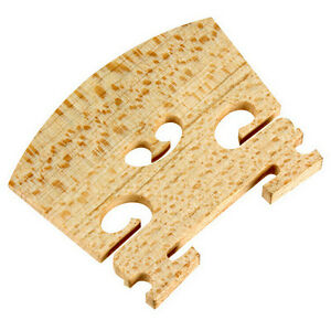 5 X Violon Pont, 4/4 Taille Fiddle Violon Ponts Neuf Haute Qualité-afficher Le Titre D'origine Texture Nette