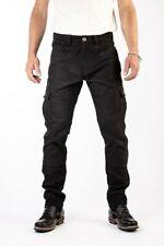 Rokker Black Jack Slim Motorrad Textilhose 34 L34