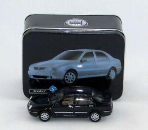 LANCIA-LYBRA-1999-BLACK-1-43-Seria-Esclusiva-from-Solido-in-Collectors-Tin