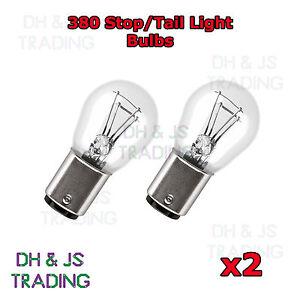 Image Is Loading 2 X 380 Rear Brake Tail Light Bulbs